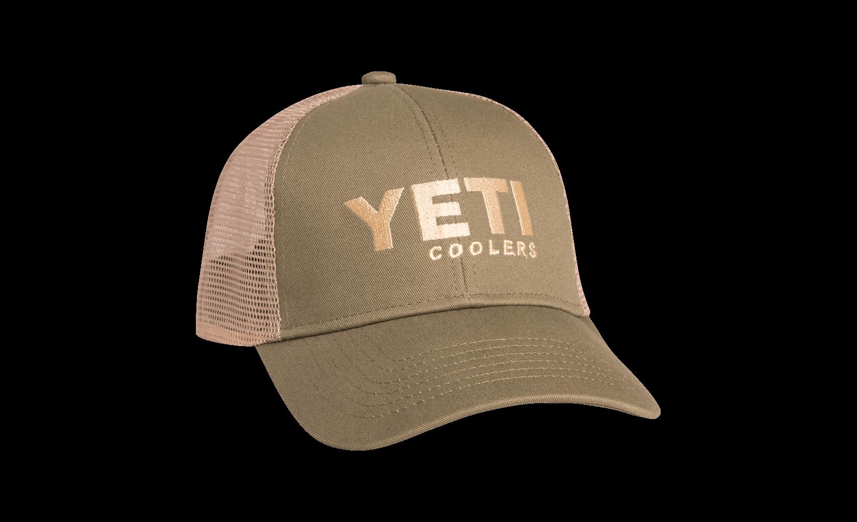 e088c4e1aa454 YETI   YETI Trucker Hat Olive Green