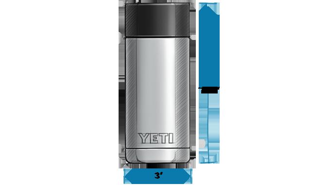 Rambler 12 oz Bottle with HotShot Cap | YETI