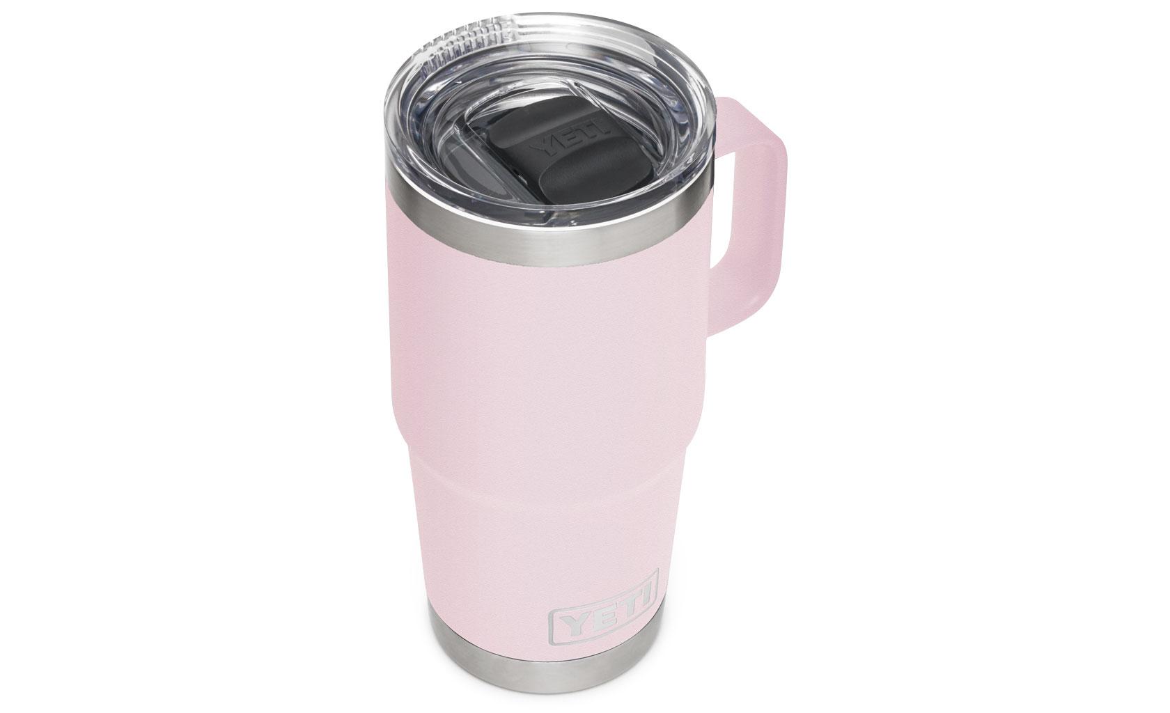 Yeti Rambler 20 Oz Travel Mug With Stronghold Lid Ice Pink
