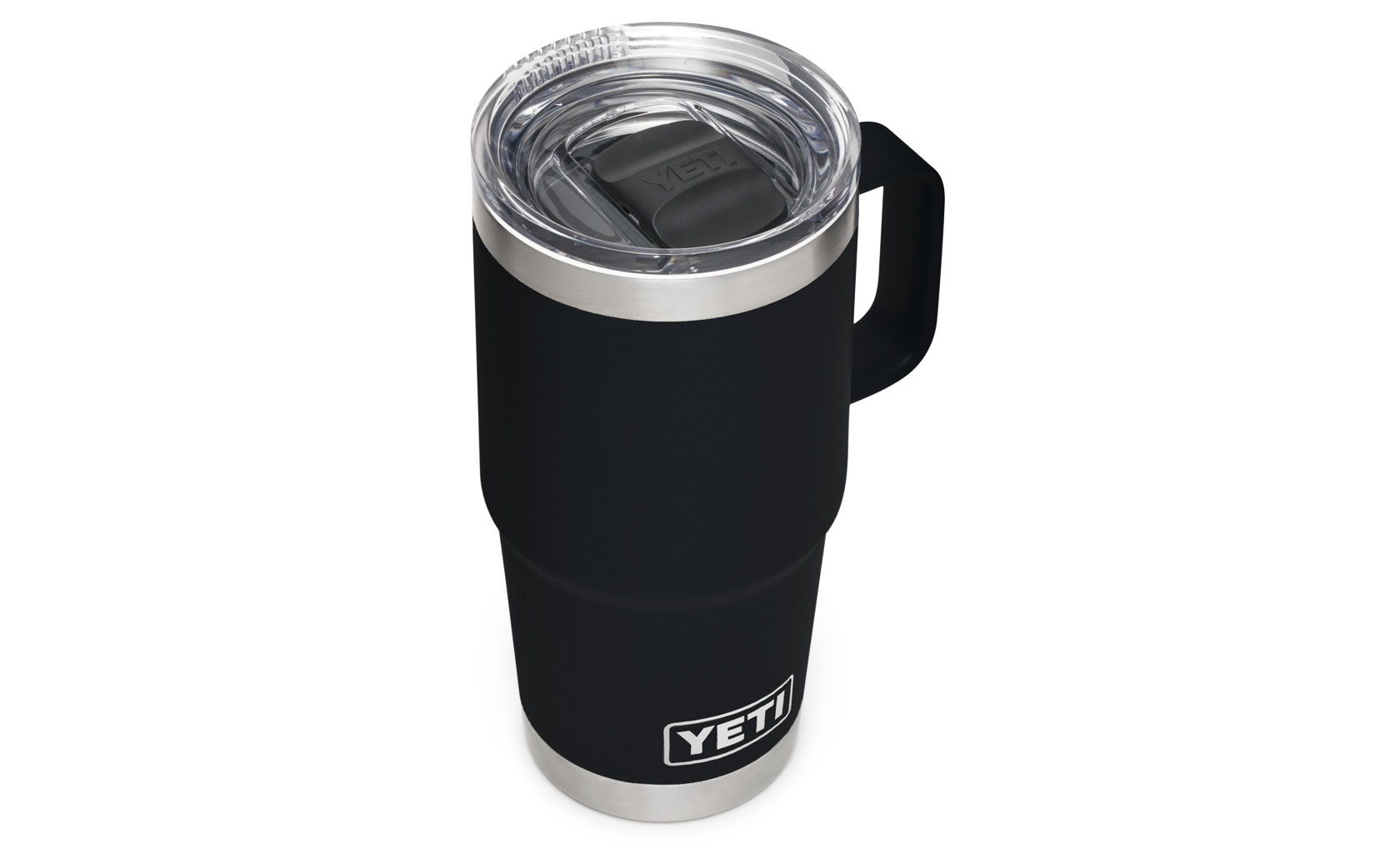 Yeti Rambler 20 Oz Travel Mug With Stronghold Lid Black