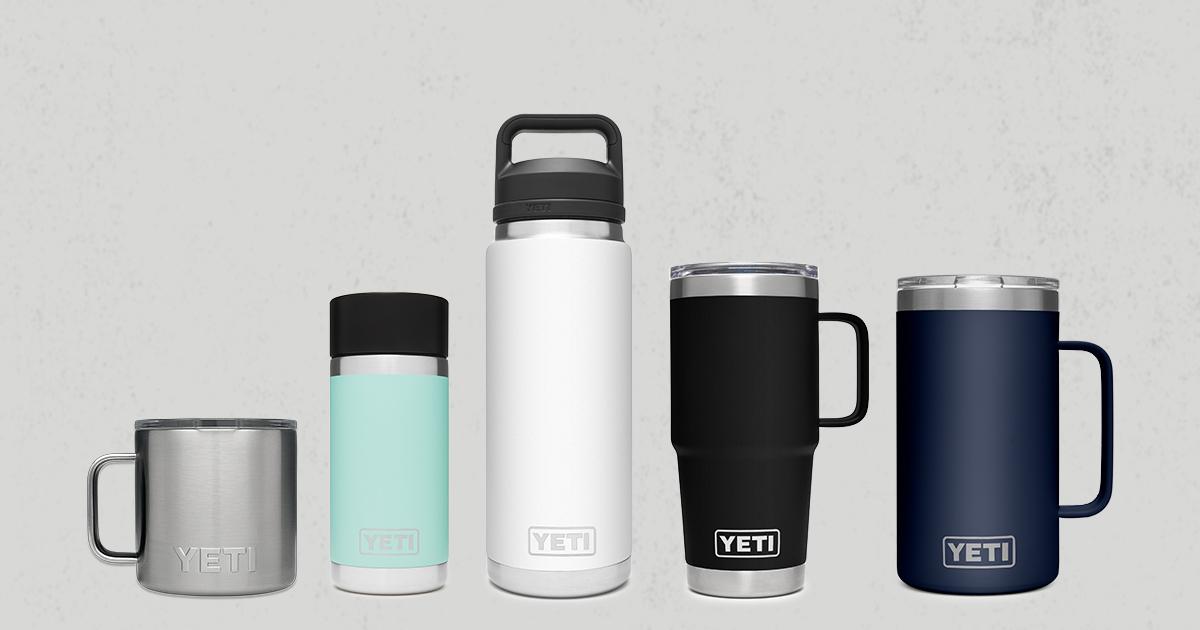 Yeti Rambler Drinkware Reusable Vacuum Insulated