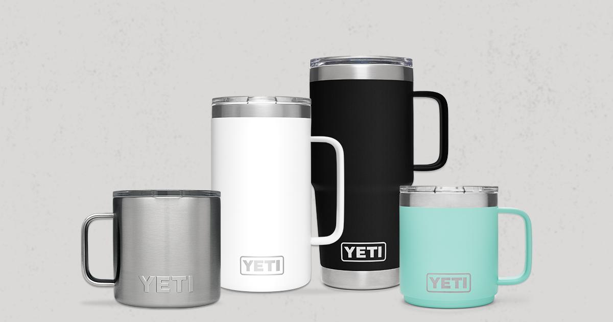 Yeti Rambler Mugs Insulated Stainless Steel Drinkware