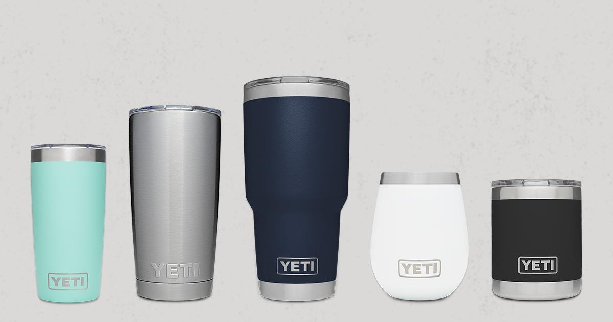 Yeti Rambler Tumblers Reusable Mugs And Cups